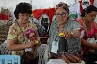 Venda de produtos artesanais no congresso