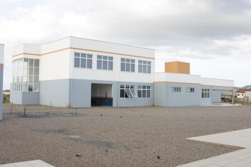 Um dos prédios da Unidade Joinville do Cefet-SC em outubro de 2006.