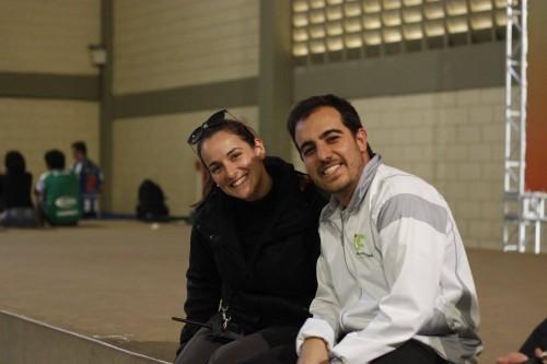 Nadia e Felipe Cintra