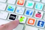 Social media communication concept